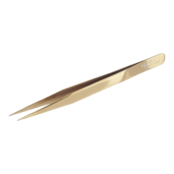 Aspire Classic Straight Gold Tweezer