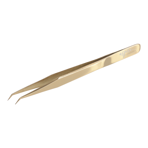 Classic Curved Gold Tweezer